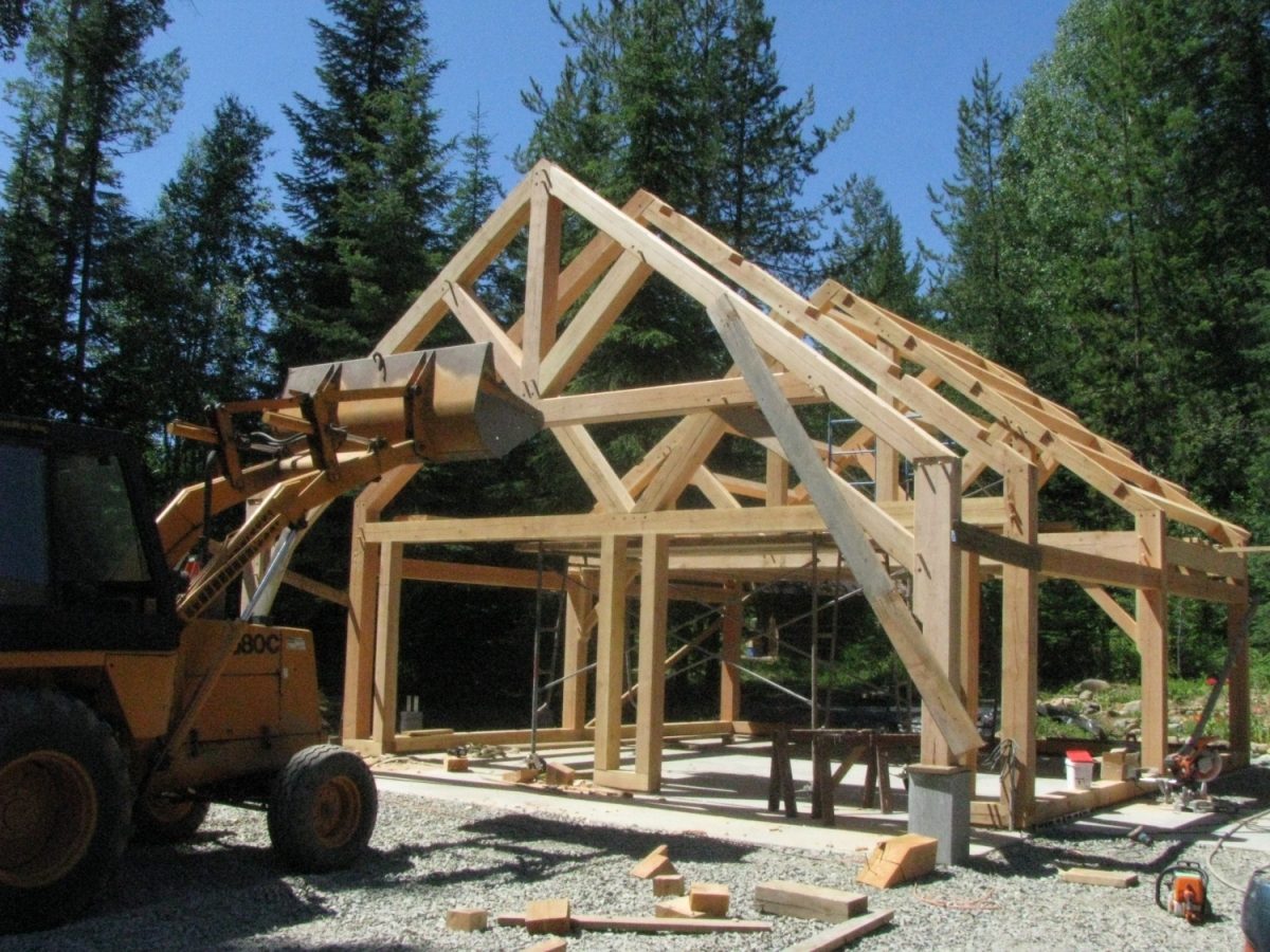 Timber Frame Garage Plans Uk